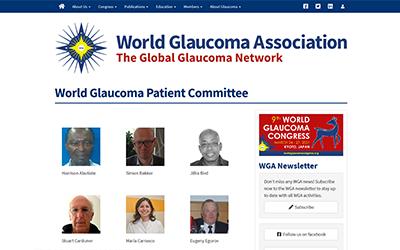 Miembro del Comité Médico Asesor de Enlance de la Asociación Mundial de Glaucoma con el Comité Mundial de Pacientes con Glaucoma.