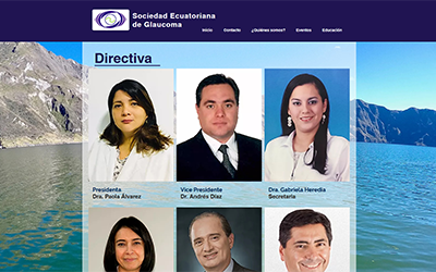 Ex-Presidenta de la Sociedad Ecuatoriana de Glaucoma