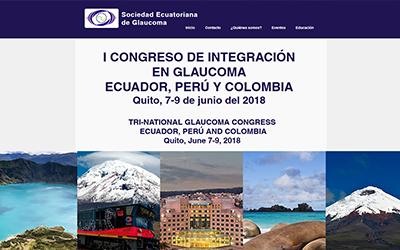 I Congreso de integración en glaucoma Ecuador, Perú y Colombia Quito, 7-9 de junio del 2018